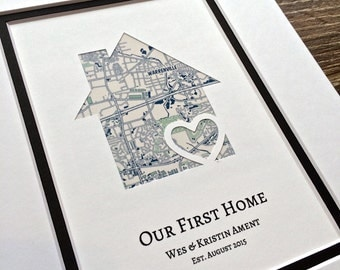Housewarming gift etsy for Traditionelles einweihungsgeschenk haus