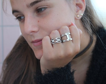 Stainless Steel Ring, Silver Ring