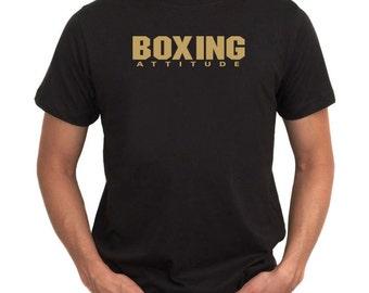 Boxing Attitude  Basic T-Shirt