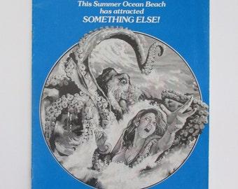 Tentacles Original Pressbook 1977 NO CUT OUTS