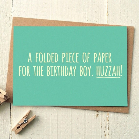 Funny Birthday Card Funny Friend Card Card For Boyfriend – Funny Birthday Card for Friend