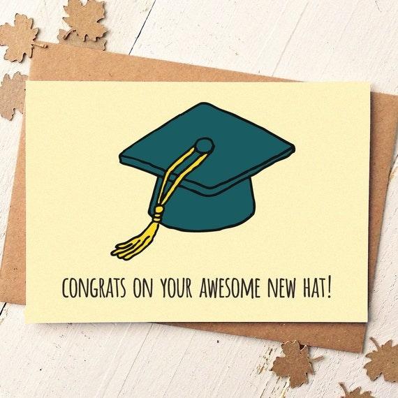 graduation card funny graduation card congrats card graduate
