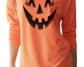 Halloween Shirts. Jack o Lantern. Pumpkin Face. Halloween Sweatshirt. Halloween Sweater. Halloween T-Shirt. Halloween Costume. Halloween.