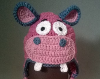 Hippo Hat - Made to Order