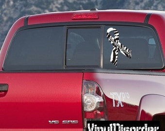 Ehlers Danlos Syndrome Awareness Ribbon Vinyl Wall Decal or Car Sticker