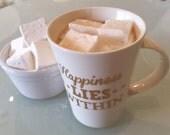 Gourmet Marshmallows ~ Classic Vanilla ~ Mouthwatering Handmade Present, Get Well Soon, Party Gift, Winter Wedding, Secret Santa