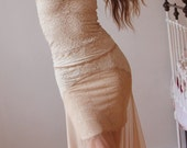 Aphrodite's Dream Cream Tulle and Lace Outfit