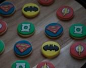 Justice League Cookies - One Dozen