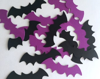 Halloween, Bats Confetti