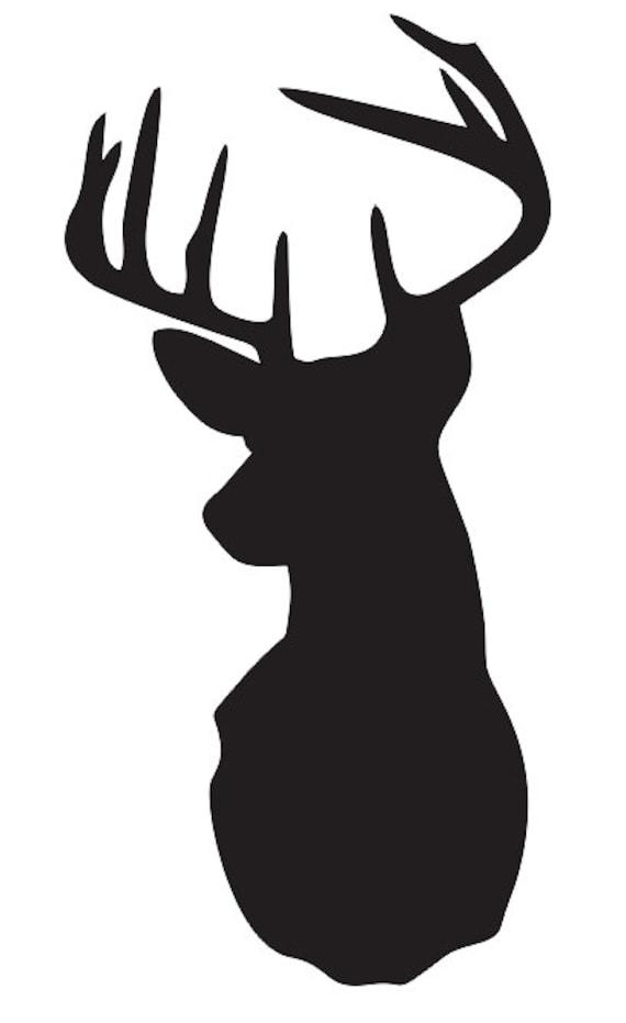 DeerStag Head STENCIL Pick a size