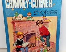 Vintage 1960s Enid Blyton book  - Chimney Corner Stories - sweet illustrations galore!