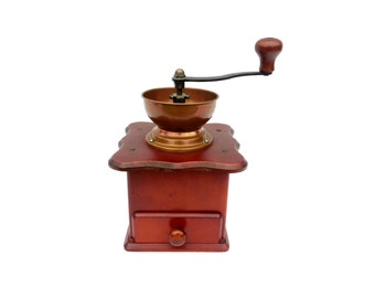 Vintage coffee grinder from Douwe Egberts - DE