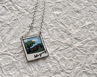 Let's Go Camping Necklace