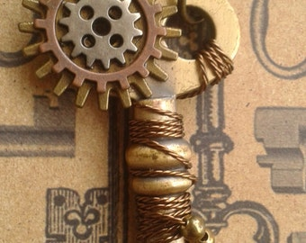 Twisted Steampunk Key