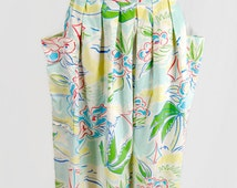 Vintage Great Connections JC Penney Fashions Floral Multi-Color