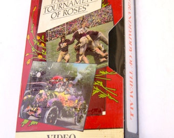 1988 VHS Pasadena Tournament of Roses Video Collector's Series Sealed - Volume 2 Granddaddy Of Them All