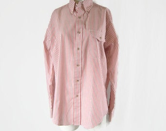 Vintage THE FOX Collection Button Down Shirt Striped