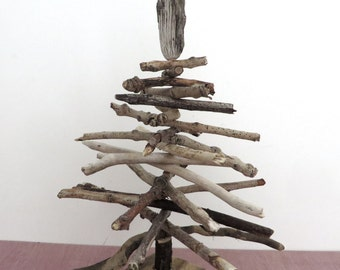 Beautiful Driftwood All Year Tree  Approx Size 34cms x 26cms