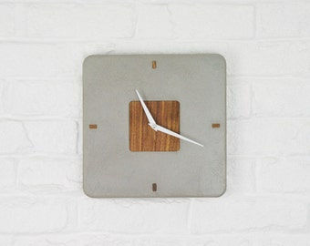 Concrete Clock / Square Concrete Clock / Circular Concrete Clock