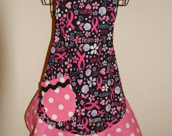 Child's Large Apron - Breast Cancer