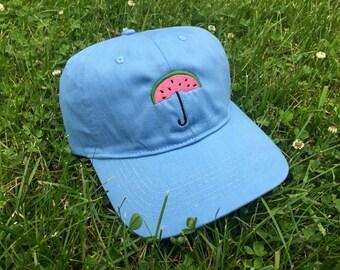 WATERMELON UMBRELLA Embroidered Hat