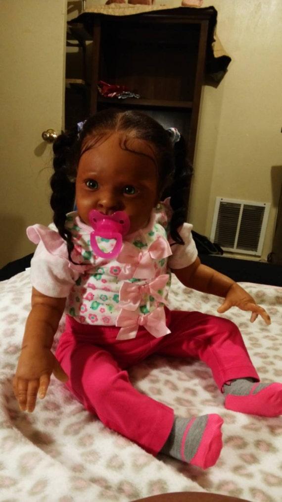 Aa Reborn Babyafrican American Biracial By