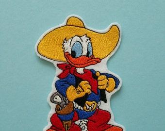 Donald Duck Applique Etsy