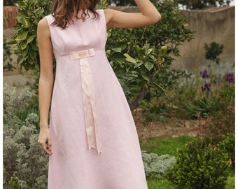 1960s Bridesmaid Dress // wedding dress // Prom dress