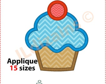 Cupcake Applique Design. Cupcake embroidery design. Embroidery design cupcake. Applique cupcake. Cake applique. Machine embroidery design