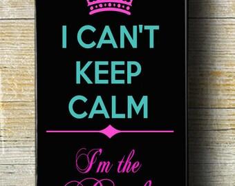 Keep Calm iPhone 6 case, Bride iPhone 6 Plus phone case, I'm Getting Married iPhone 5 case, iPhone 5c Bridal iPhone case