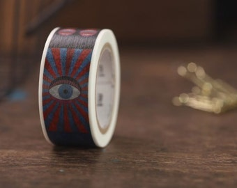 MT Washi Tape Eye And Mouth MT x Tadanori Yokoo MT Masking Tape (MTYOKO01)