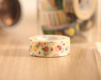 MT Washi Tape Ten Ten Japanese Masking Tape | mt for kids (MT01KID021)
