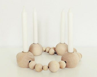 1 Ahoj-2012 ball-Advent Wreath, candle stand, candle holder in ball shape, ball, Advent Wreath, Advent, Christmas, 1 piece