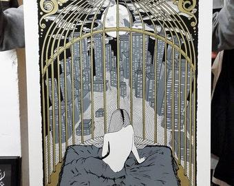 Freedom - Handpulled Silkscreen Poster