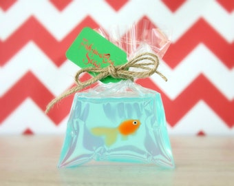 Unique Stocking Stuffer for Kids - Funny Stocking Stuffer - Fish in a Bag Soap - Stocking Stuffers for Children - Gag Gift - Novelty Soap