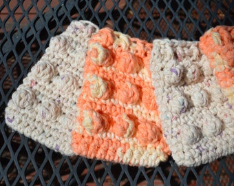 Natural Cotton Crochet Soap Saver / Holder  Ready to Ship!