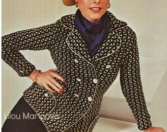 Crochet Dress Pattern,Crochet Skirt Suit Pattern Crochet Skirt Pattern Crochet Blazer Pattern Crochet Suit Pattern