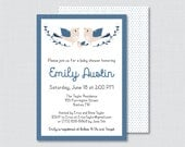Bird Baby Shower Invitati...