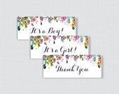 Floral Printable Candy Ba...