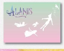 Neverland Peter Pan Party Backdrop | Personalised Digital file