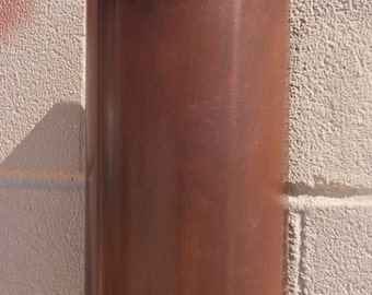 Copper Cylinder Wall Sconce