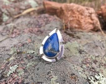 Warrior Woman Lapis Ring