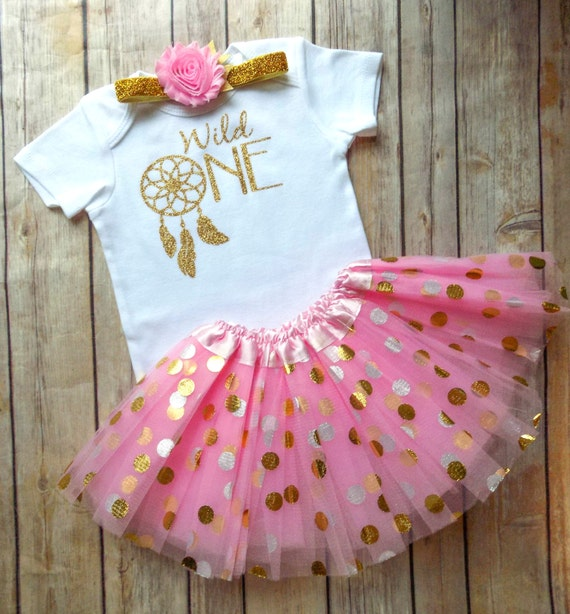 Wild One First Birthday Outfit Girls Wild By QueenBeeBoutique127