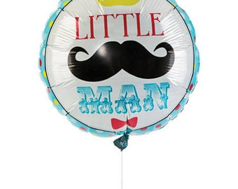 Lil' Man Balloon/ Mustache