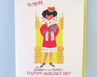 Vintage Style Mother's Day Card by writeables