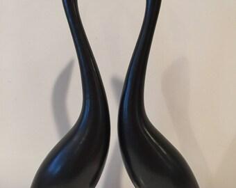 Howard Pierce Ceramics Pottery Water Birds Mid-Century California