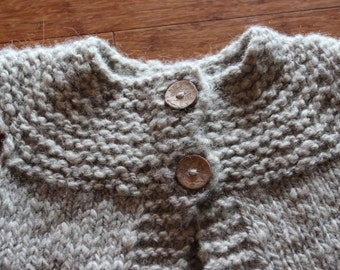 Toddler knit vest