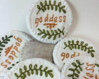 Goddess Merit Badge Patch or Pin