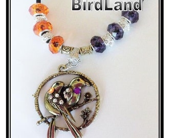 Baltimore Orioles and Baltimore RAVENS Necklace jewelry handmade