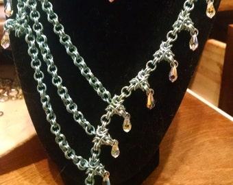 Byzantine Triangle Necklace